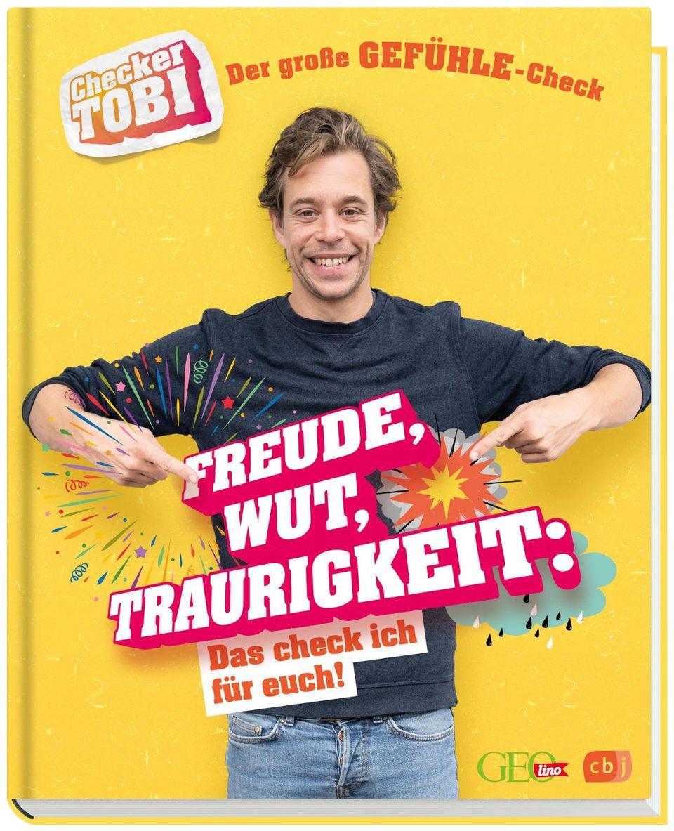 Buch- und Hörspieltipp: Checker Tobi stellt seine Fragen jetzt auch in einem Buch und Hörspiel!
