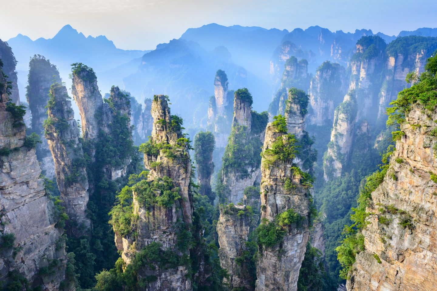 Zhangjiajie Nationalpark, China