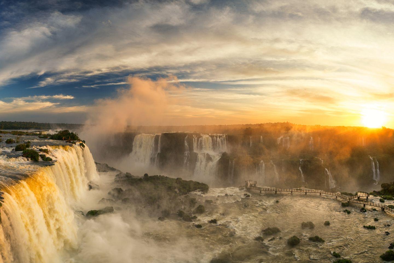 Iguazú-Wasserfälle, Brasilien & Argentinien