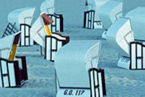 Schiebepuzzle: Nr. 87: Strandkörbe auf Rügen