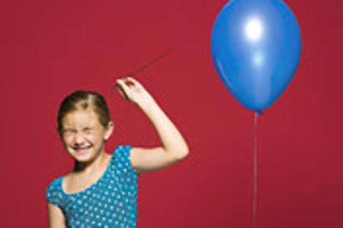 Schiebepuzzle: Nr. 80: Luftballon