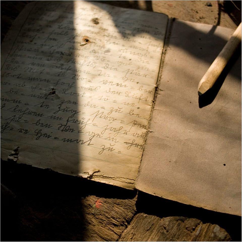 Manchmal birgt auch ein altes, verstaubtes Buch ein spannendes Geheimnis