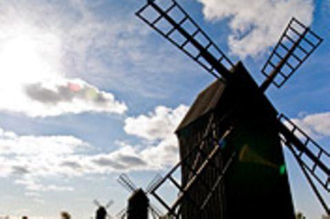 Schiebepuzzle: Windmühlen