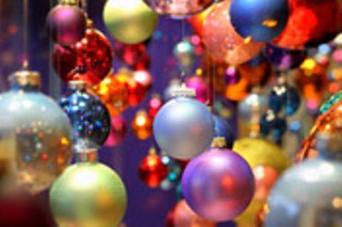 Schiebepuzzle: Nr. 104: Weihnachtskugeln