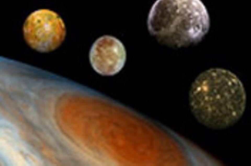 Magisch: Jupiter und seine Monde