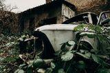 Die verlassene Autowerkstatt in Pankow