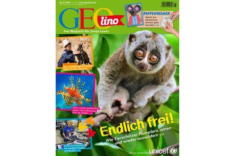 Das Cover der GEOlino-Ausgabe 03-2021