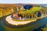 Donaudurchbruch am Kloster Weltenburg