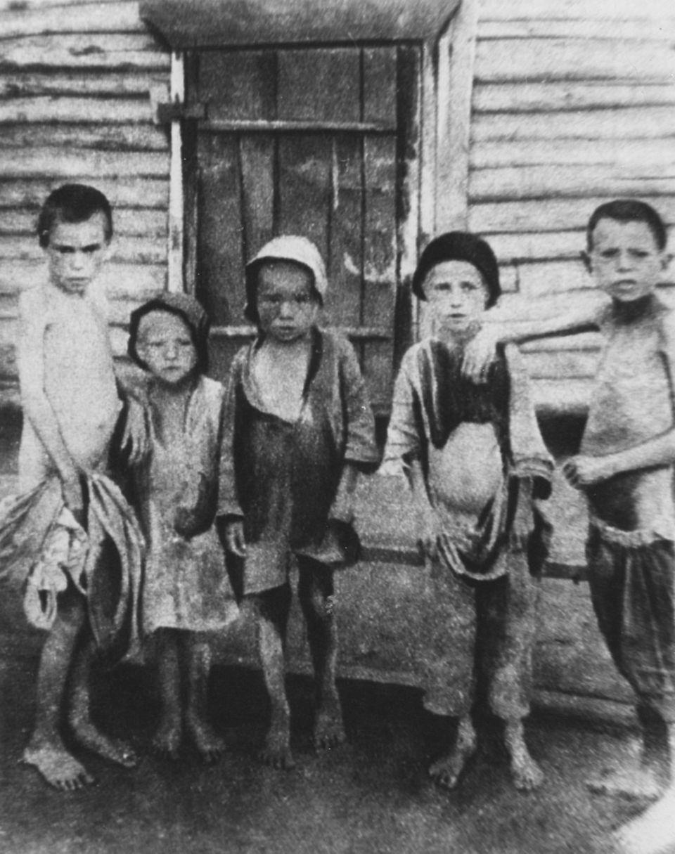 Hungersnot Russland 1921
