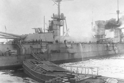 Kriegsschiff Petropavlovsk
