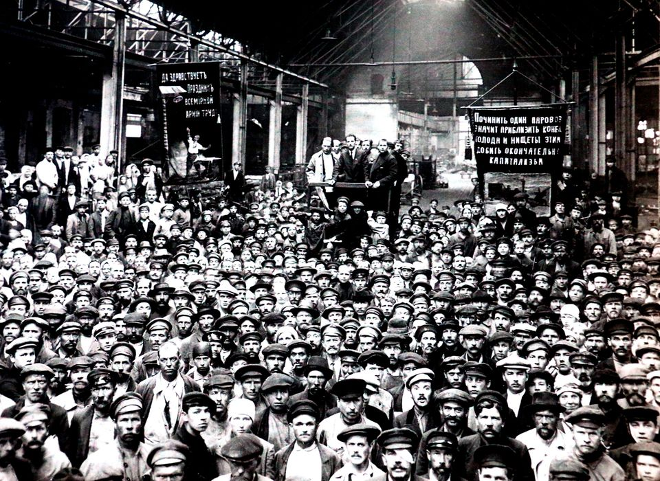 Streik, Russland