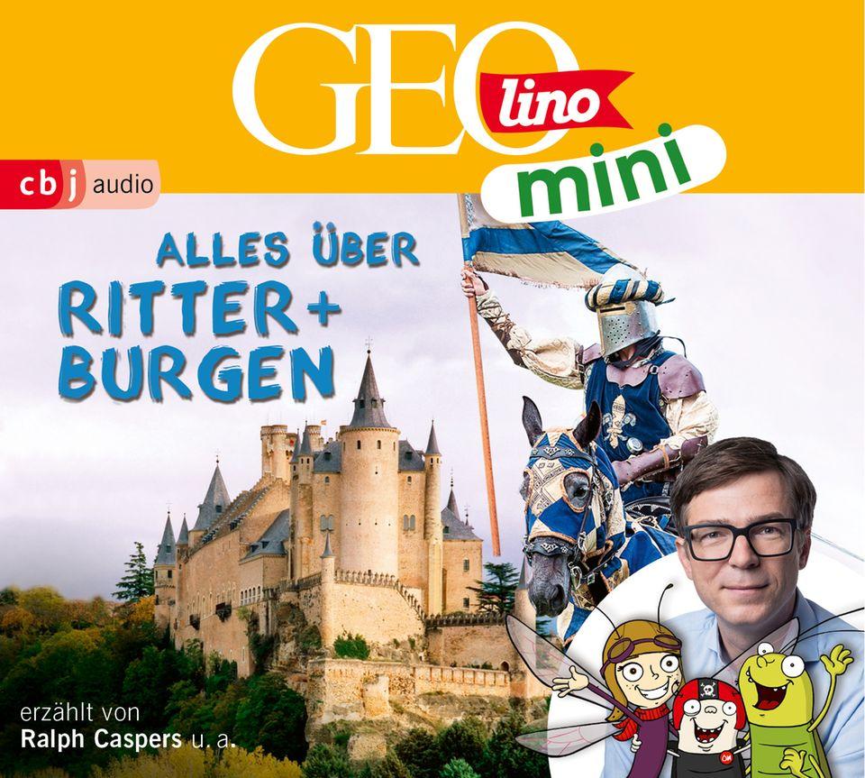 Hörspiel Cover GEOlino Mini Alles über Ritter und Burgen