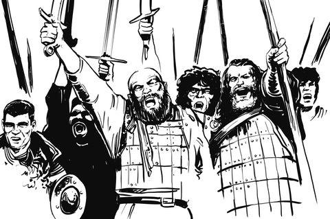 Nachdem der englische König Schottland unterworfen hat, formt sich dort erneut Widerstand. Geführt werden die Rebellen, die den Engländern nicht in offenen Feldschlachten entgegentreten, sondern sie aus dem Hinterhalt attackieren, von Männern wie William Wallace