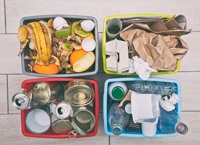 Müllgewohnheiten ausmisten
