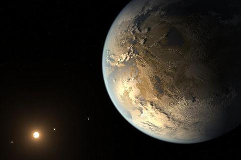 Der Planet Kepler-186f