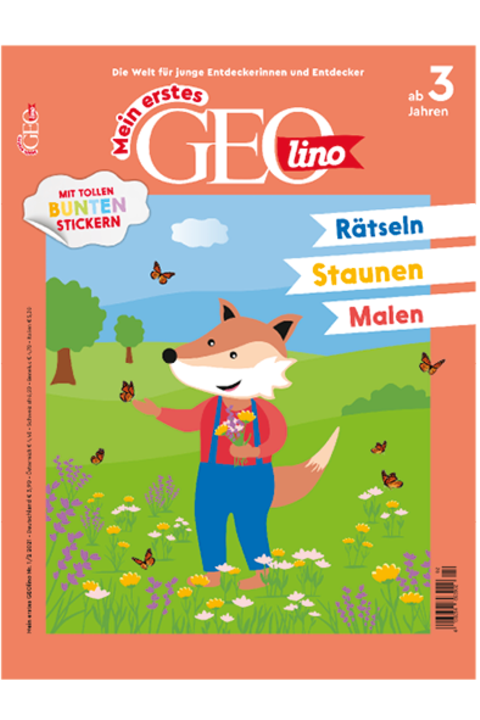 Mein erstes GEOlino Nr. 02/2021: Mein erstes GEOlino