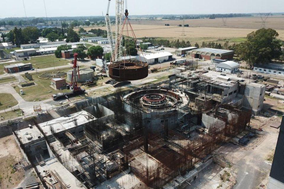 In Argentinien wird gerade der Kleine Modulare Reaktor Carem-25 gebaut