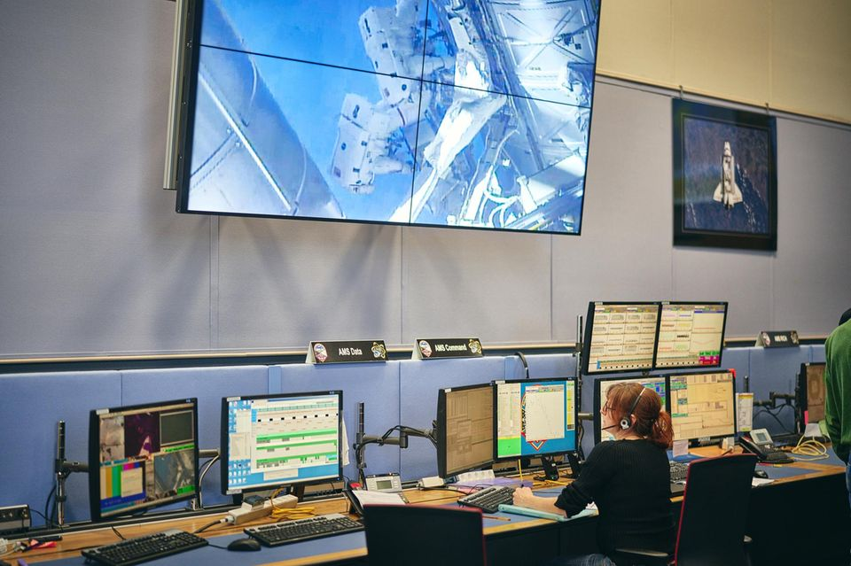 Kontrollzentrum bei Genf