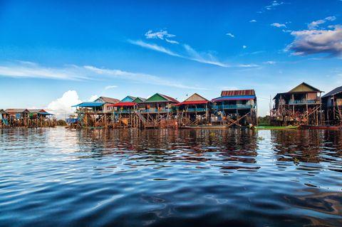 Schwimmendes Dorf von Tonle Sap, Kambodscha