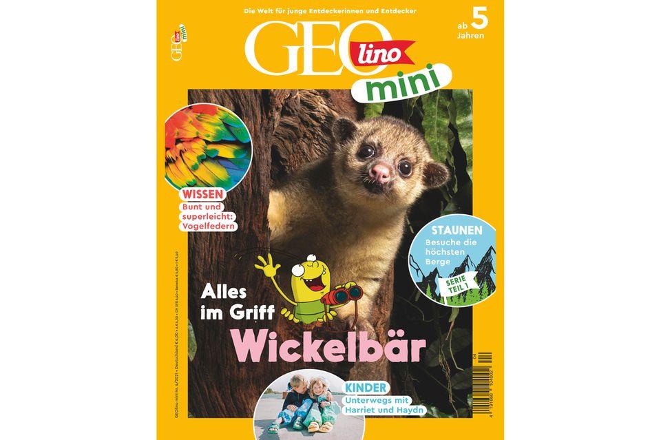 GEOlino Mini Nr. 04/2021: Alles im Griff – Wickelbär