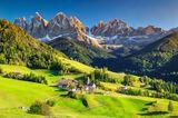 Santa Maddalena, Dorf in den Dolomiten