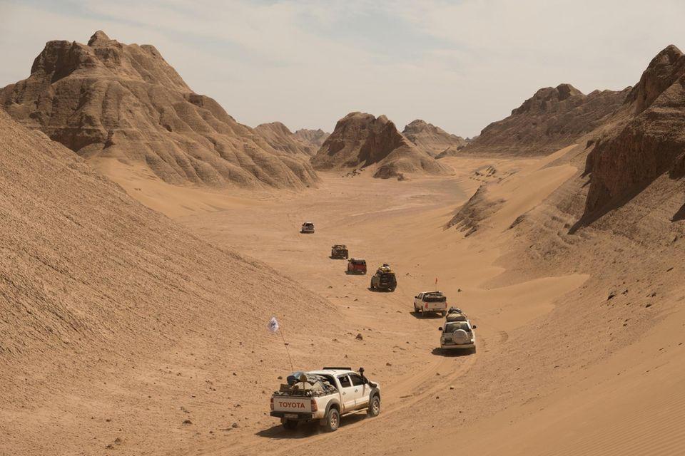 Expedition: Vorstoß in die Wüste Lut - an den heißesten Ort der Erde