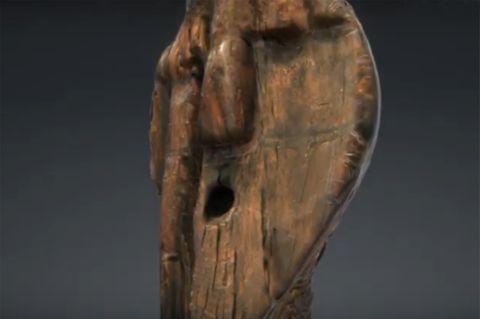 Älter als gedacht: 3D-Animation der ältesten Holzfigur der Menschheit