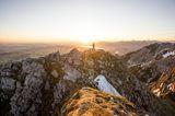 Gipfelkreuz am Aggenstein