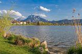 Blick auf den Hopfensee nahe Füssen
