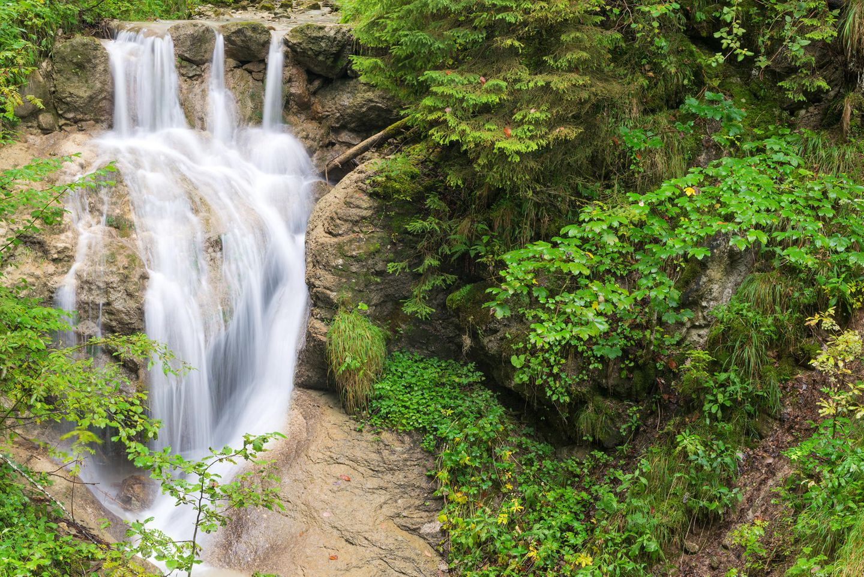 Wasserfall von Nesselwang am Wasserfallweg