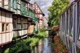 Kanal mit Fachwerkhäusern in Salzwedel