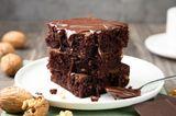 Zart schmelzender Schokoladenkuchen