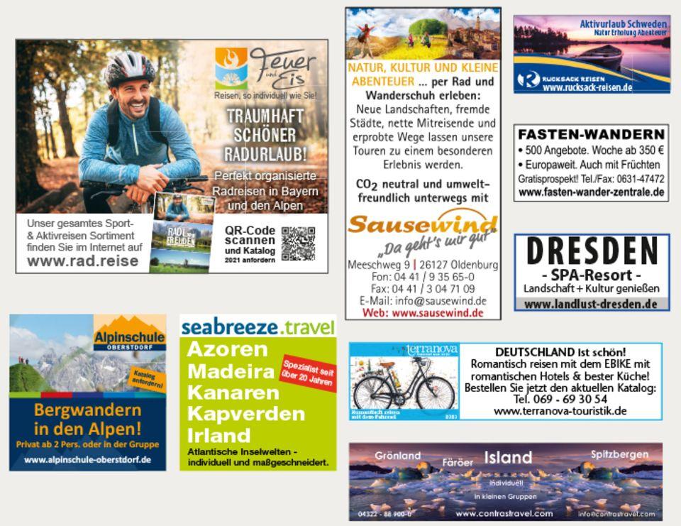 - Werbung -: Reisemarkt Mai 2021