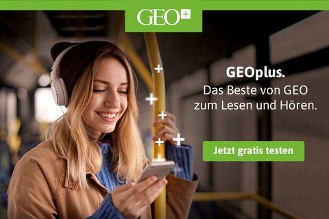 Jetzt hier klicken und GEOplus30 Tage kostenlos testen. Jederzeit kündbar.