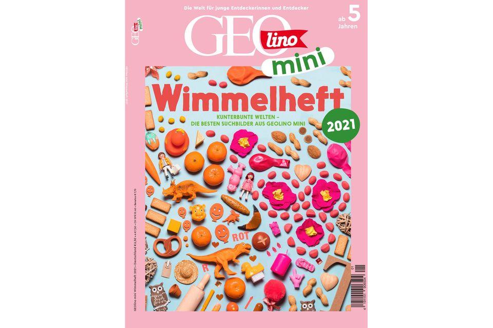 Wimmelbilder im GEOlino Mini Wimmelheft zum Suchen und Finden