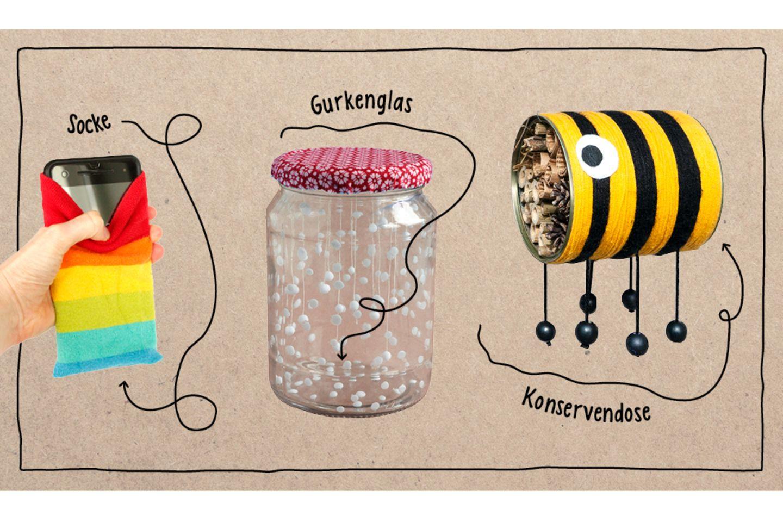 Upcycling-Ideen für Kinder