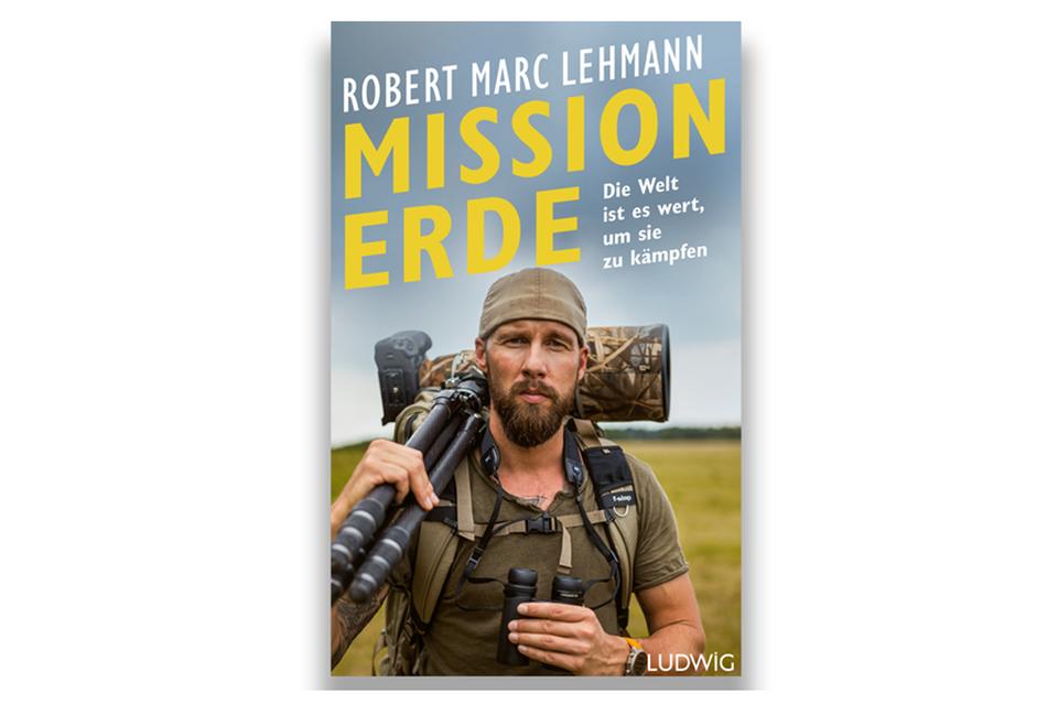 """Robert Marc Lehmanns Buch """"Mission Erde"""" ist am 19. April 2021 im Ludwig Verlag erschienen"""