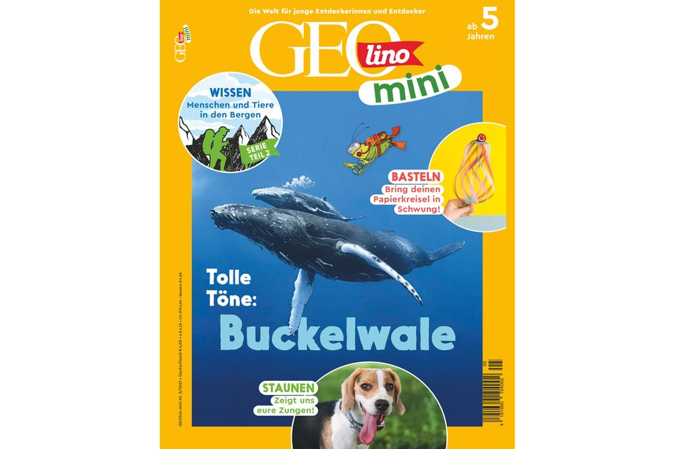 GEOlino Mini Nr. 05/2021: Tolle Töne - Buckelwale