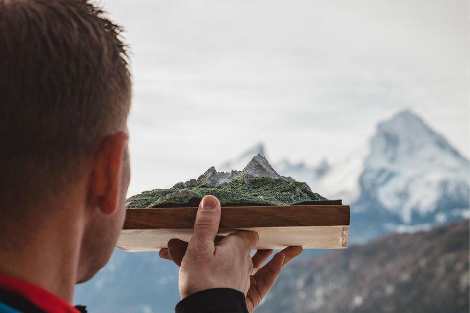 Seinen Nachbarn, den 2713 Meter hohen Watzmann, kennt Wolfgang Pusch ziemlich gut: 50 Mal war er oben