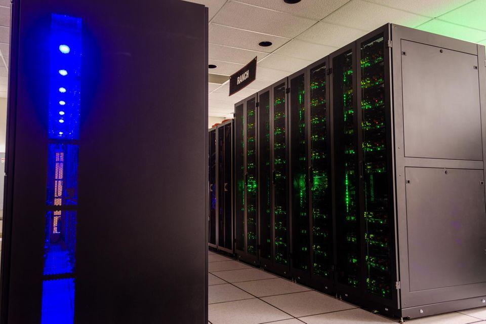 Langzeit-Datenspeichersystem an der TACC