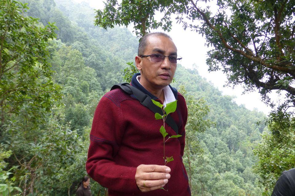 Naturschützer seit mehr als 35 Jahren: Siddhartha Bajracharya