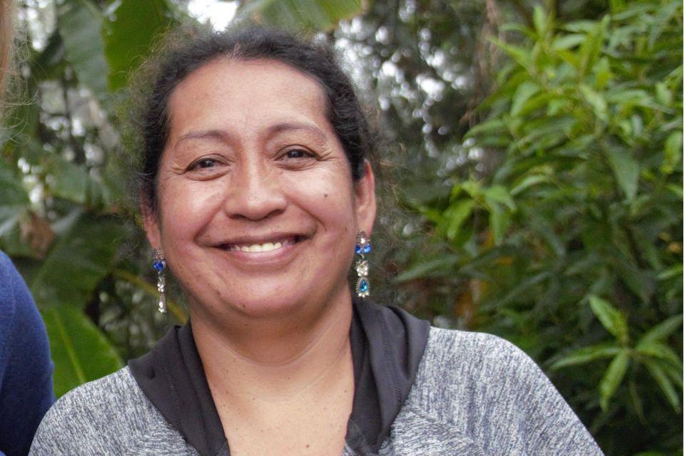 Silvia Quilumbango Flores stellt Gemeindewälder unter Schutz