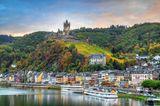 Cochem an der Mosel mit der Burg Cochem