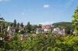 Historische Villen in Eisenach, Thüringen