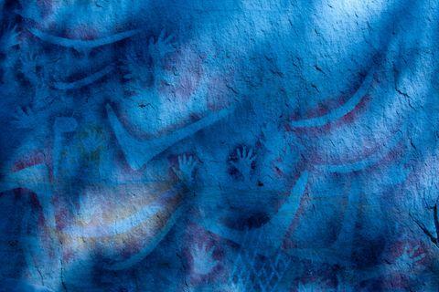 Felsmalereien im Carnarvon-Nationalpark, Queensland