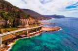Grand Pacific Drive Route in Australien