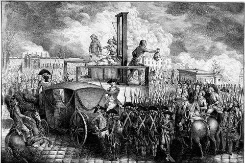 Je länger die Revolution andauert, desto kompromissloser werden die Revolutionäre: Am 21. Januar 1793köpfen sie den König – und provozieren damit alle Monarchien Europas