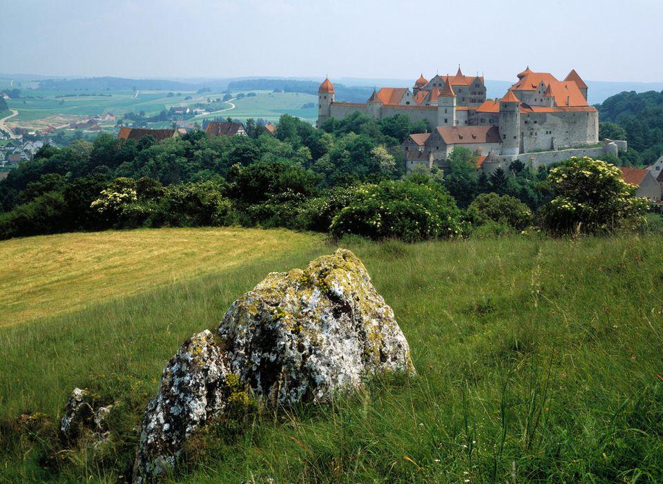 Burg Haburg im Nördlinger Ries