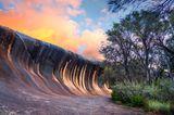 Wave Rock – Granitklippe im Outback