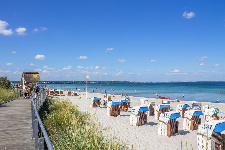 Strand von Scharbeutz